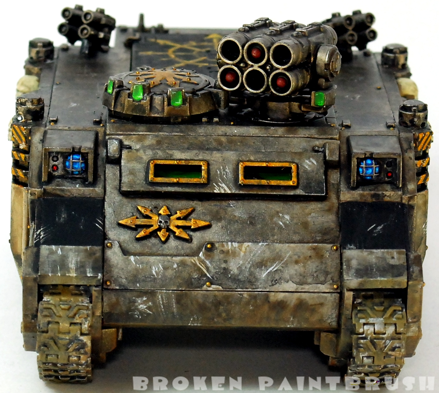 Iron Warriors Rhino #2 - Done - Front