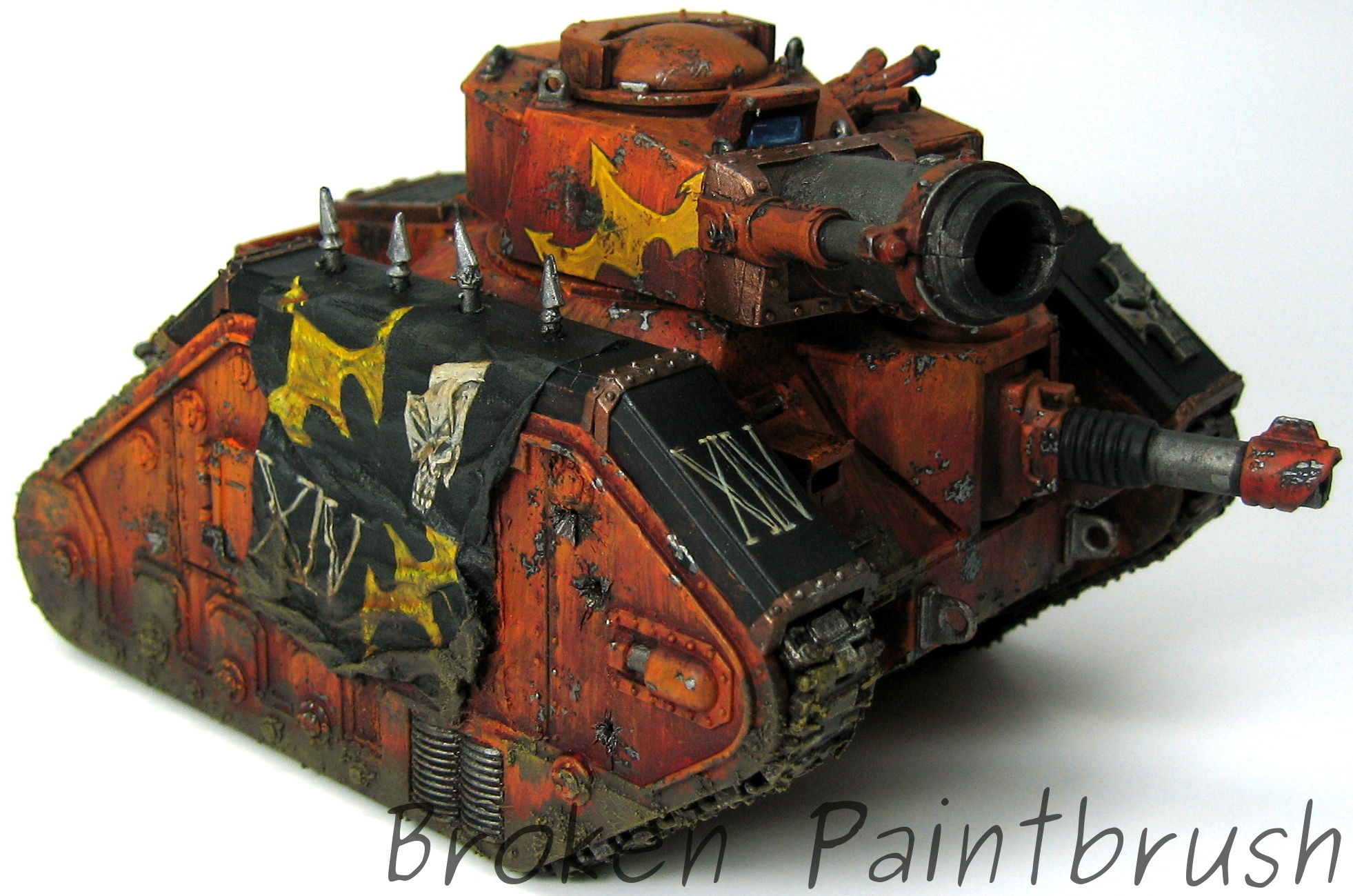 Traitor Russ Demolisher Tank 3