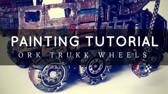 How to Weather Wheels and Tires