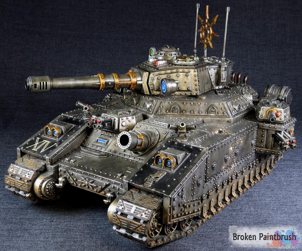 Iron Warriors Banebade Front