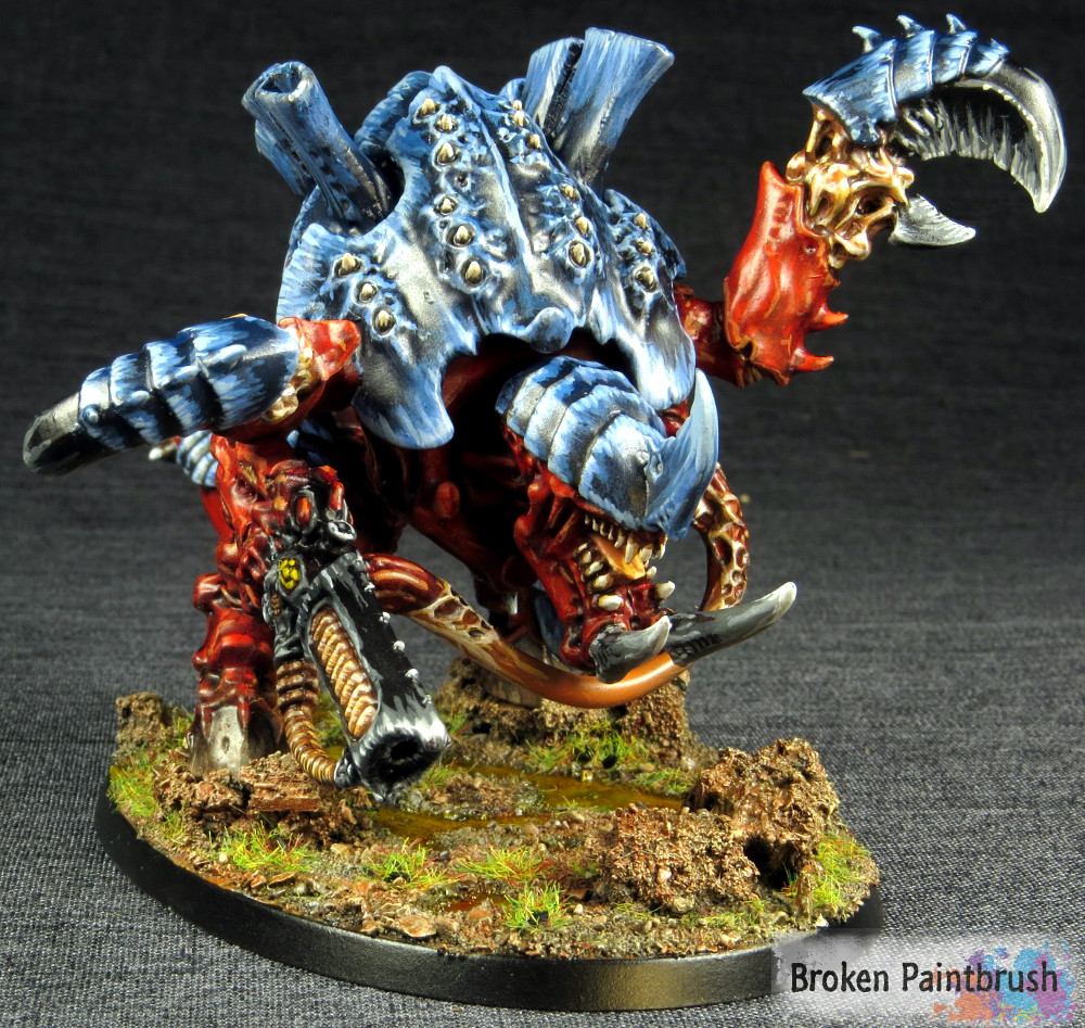 How to Paint a Carnifex Finished
