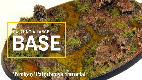 How to Paint a Large Base