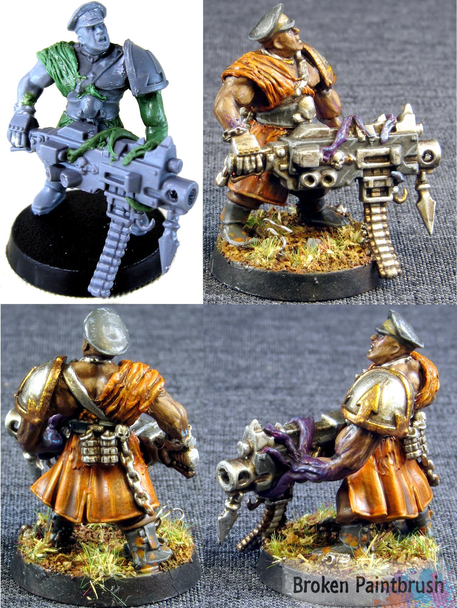 Traitor Guard Veteran Squad Sarg Harker