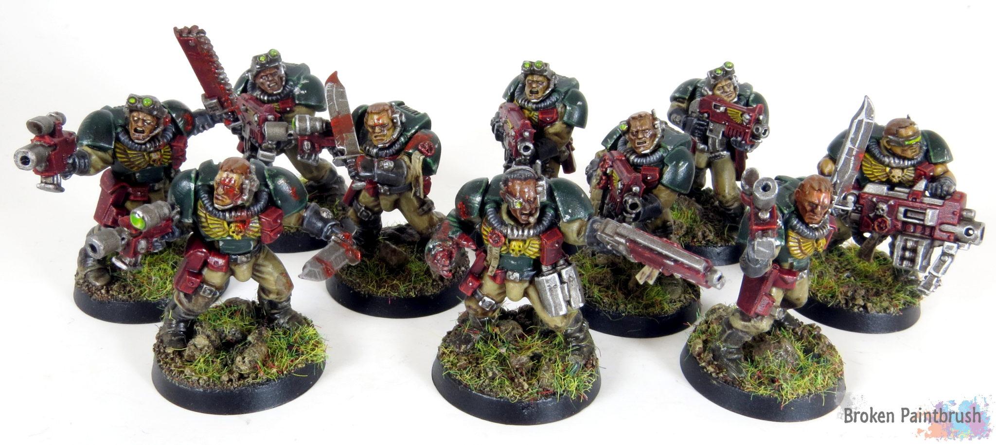 Mentor Legion Scout Squad for Combat