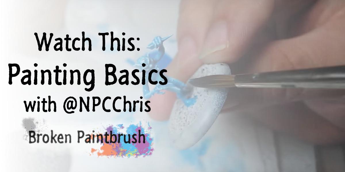 Painting Basics Banner