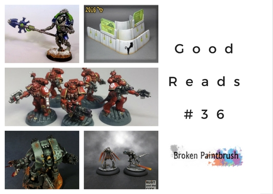 Hobby Blog Collection Good Reads #36