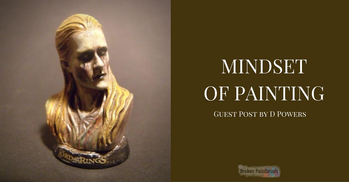 Guest Author D Powers on the Mindset of Painting