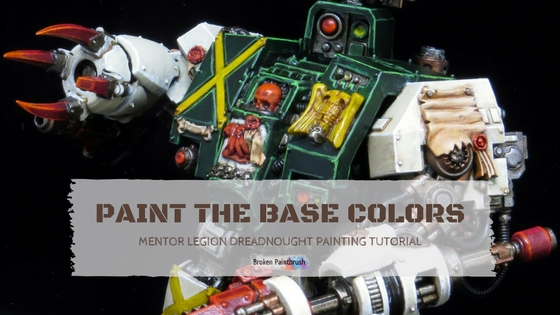 Mentor Legion Painting Guide for the base colors
