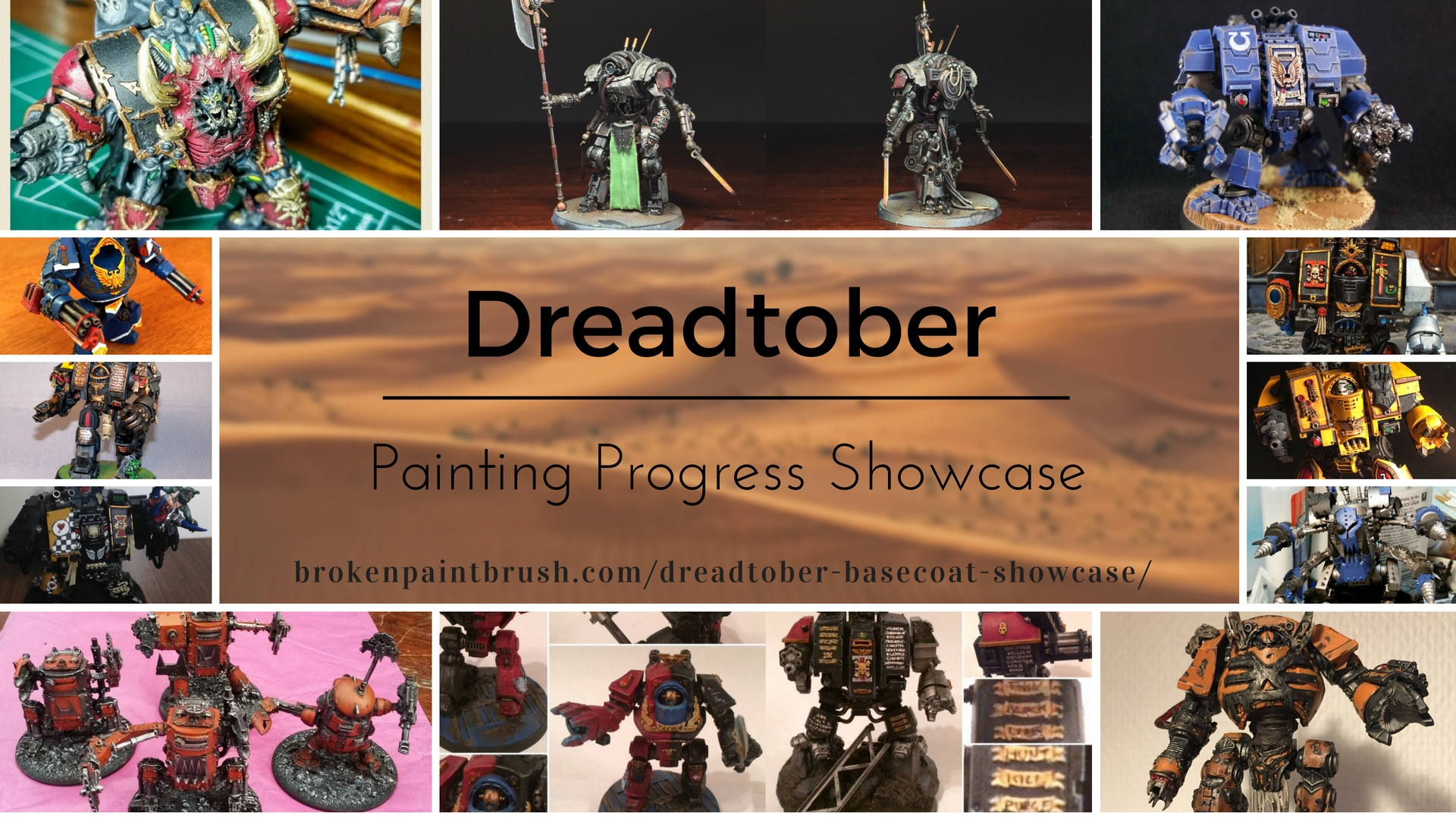 Dreadtober Basecoat Showcase