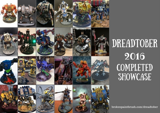 Dreadtober 2016 Completed Showcase