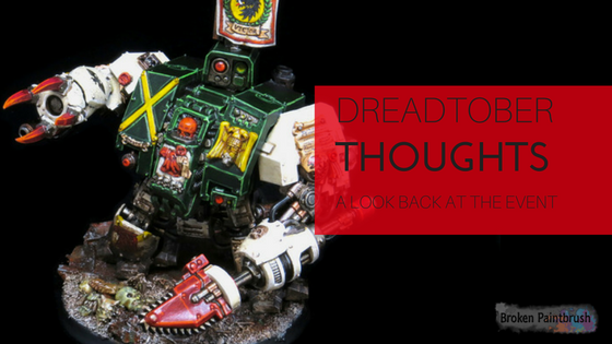 Dreadtober Recap and Thoughts on the Event
