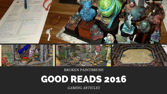 Best Gaming Articles of 2016