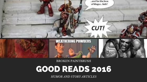 40k Humor and Short Stories