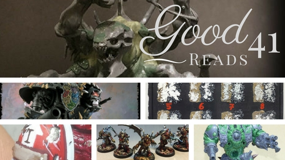 Good Reads 41 with Awesome Hobby Content