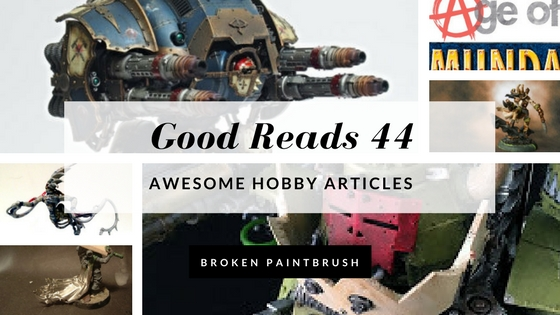 Good Reads 44 by Borken Paintbrush