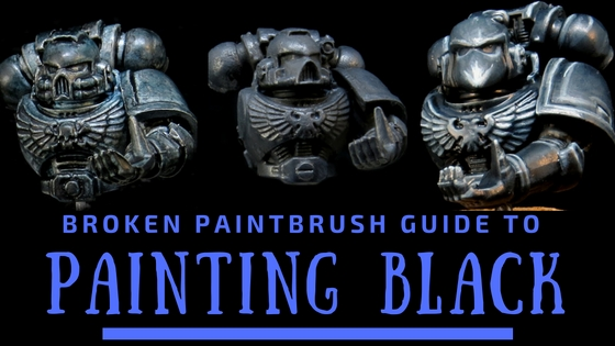 How to Paint Black Armor and Clothing