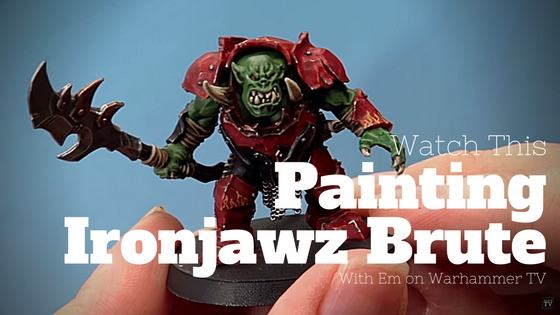 How to Paint Ironjawz Brute by Em