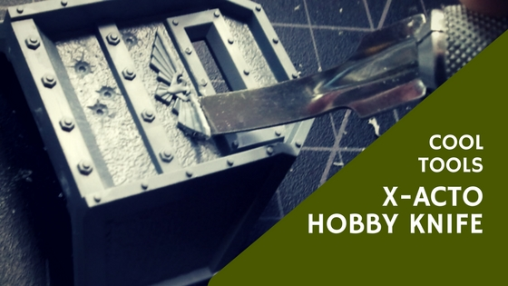 Using X-Acto Hobby Knife for miniatures and craft projects