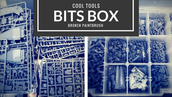 Cool Tools Bits Box for Organizing Spart Bits