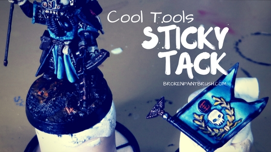 A Look at Sticky Tack and its use in the hobby